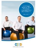 Cover Status Quo Prozessmanagement 2011