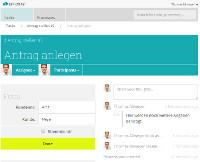 Screenshot BPMS Effektif