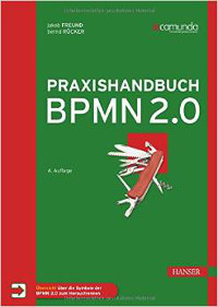 Cover Praxishandbuch BPMN 2.0 - vierte Auflage