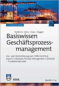 Cover Basiswissen Geschäftsprozessmanagement 2. Auflage