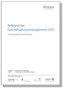 Cover Studie Reifegrade GPM 2015