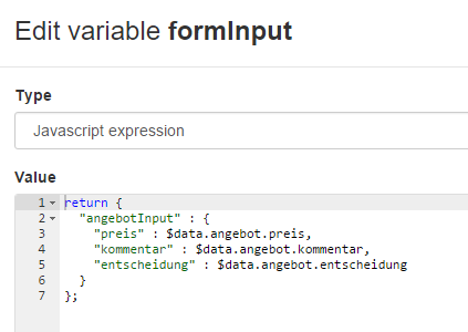 formInput JavaScript