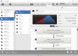 Screenshot Disco Process Mining
