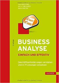 Cover Hanschke Business Analyse 2. Auflage